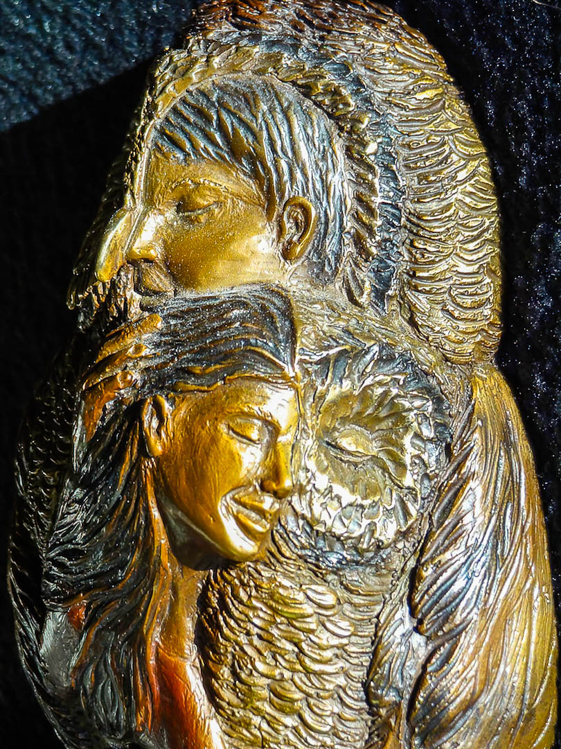 The Embrace by Christina Demetro detail